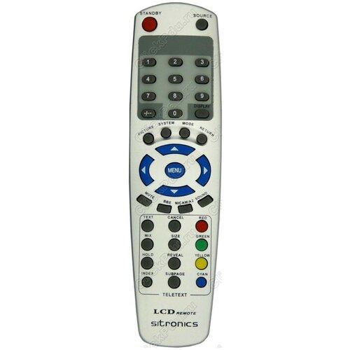Фото - Пульт Huayu LCD TV2 LCD-1502/1701 для телевизора Sitronics пульт системы голосования responsecard rf lcd