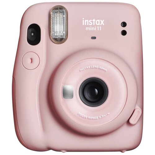 Фото - Фотоаппарат моментальной печати Fujifilm Instax Mini 11, blush pink фотоаппарат моментальной печати canon zoemini s розовое золото