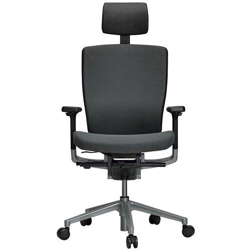 Эргономичное компьютерное кресло Schairs AEON-P01S GREY