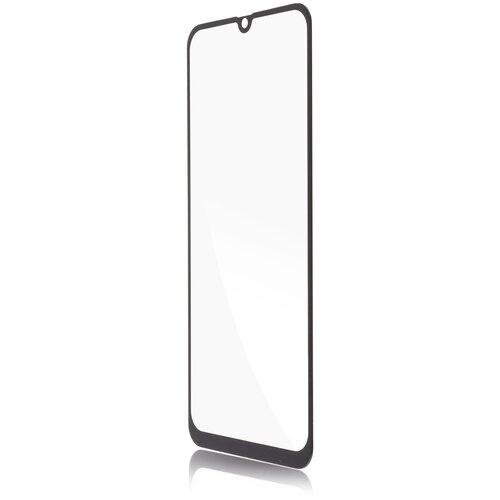 Прозрачное защитное стекло картофан с черной рамкой для Samsung Galaxy A30, Galaxy A30S, Galaxy A50, Galaxy A50S, Galaxy A20, Galaxy M30,(Самсунг Галакси А30, Галакси А30С, Галакси А50, Галакси А50С, Галакси А20, Галакси М30), силиконовая клеевая основа