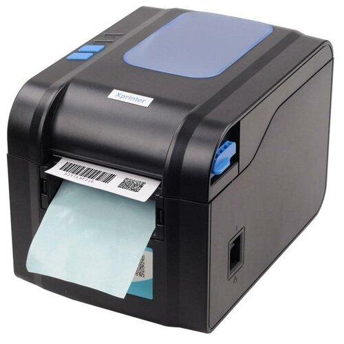 Термальный принтер этикеток Xprinter XP-370B черный