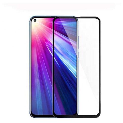 3D/ 5D защитное стекло MyPads для Huawei Honor V20 с закругленными изогнутыми краями которое полностью закрывает экран/ дисплей по краям с олеофобным покрытием