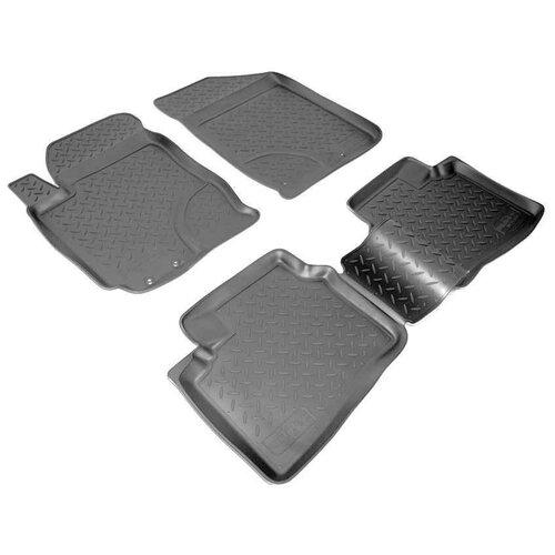 Комплект ковриков салона NorPlast NPL-Po-31-05 для Hyundai Elantra 4 шт. черный