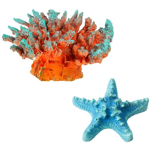 Декорации для оформления аквариума Marvelous Aqva набор, N-54