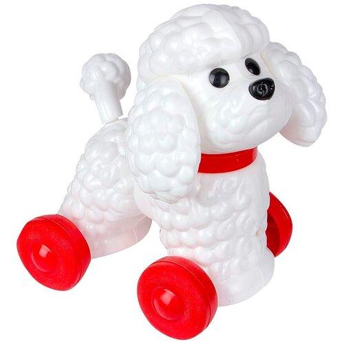 Купить Каталка-игрушка ОГОНЁК Фафик белый/красный, Каталки и качалки