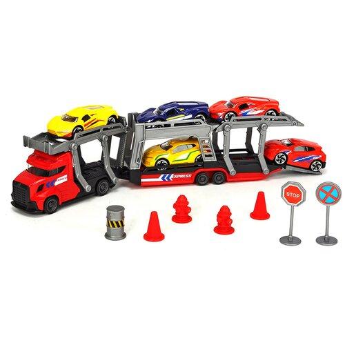 dickie toys набор dickie toys команда спасения sos Набор машин Dickie Toys 3745012-1, разноцветный
