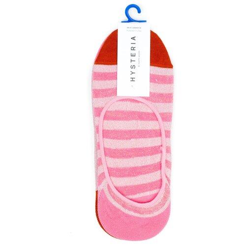 Комплект носков женских премиального бренда Hysteria 2 Pair Pack No Show - Claudia - Pink 36-38