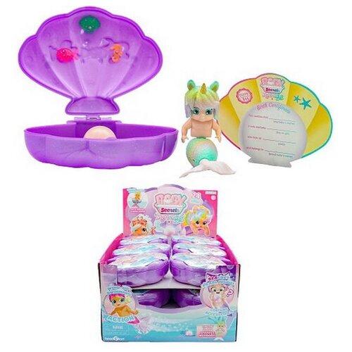 Baby Secrets Merbabes, коллекционная куколка-русалка в ракушке, 2 серия, 11 шт в ассортименте+1 редк