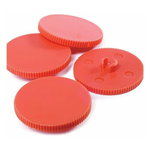 Сменные диски для дырокола RAPID HDC150/2, КОМПЛЕКТ 10 шт., пластиковые, 23001000 228566