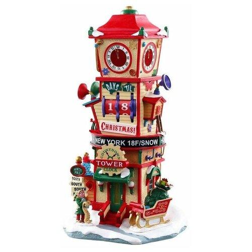 фигурка lemax 5 ястребов 14 7 х 14 1 х 16 см коричневый черный Фигурка LEMAX часовая башня Скоро Рождество 26.6 х 14 х 12.2 см красный/бежевый