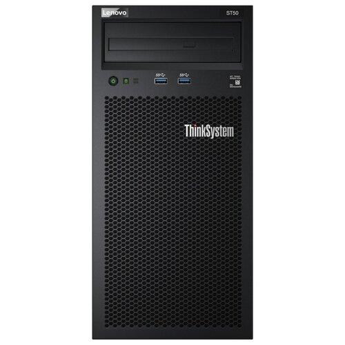Сервер Lenovo ThinkSystem ST50 (7Y48A03EEA) 1 x Intel Xeon E-2224G 3.5 ГГц/8 ГБ DDR4/2000 ТБ/1 x 250 Вт