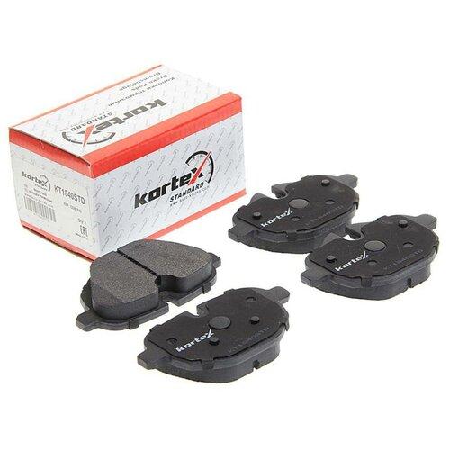 Дисковые тормозные колодки задние KORTEX KT1840STD для BMW 5 series, BMW X3 (4 шт.)