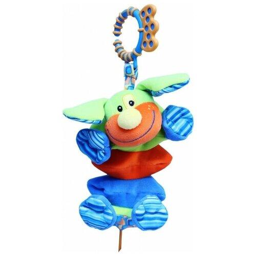 Фото - Подвесная игрушка ROXY-KIDS Щенок Гигл (RBT10076) развивающая игрушка roxy kids на руку с прорезывателем совенок угу rbt20024
