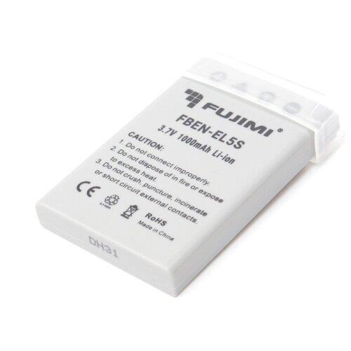 Фото - Fujimi FBEN-EL5S Аккумулятор для фото камер fujimi lp e17 зу аккумулятор для фото и видео камер в комплекте с зу