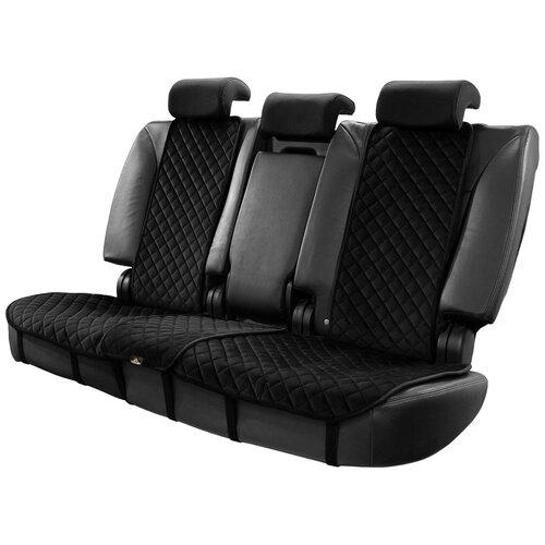 Автомобильные накидки универсальные на задние сиденья черные
