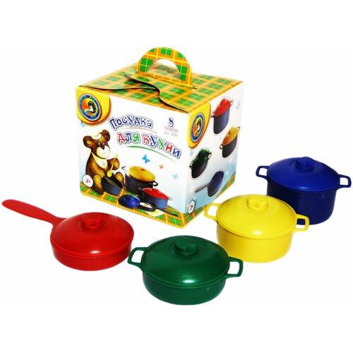 Фото - Набор посуды Строим вместе счастливое детство 5030 кубики строим вместе счастливое детство набор 2 5253