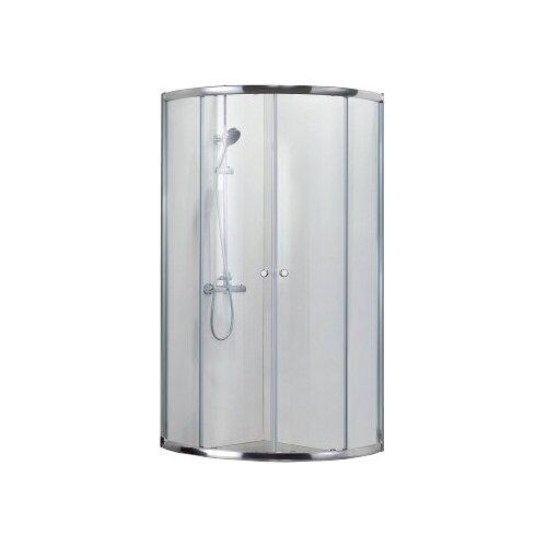 Душевой уголок BRAVAT Drop без поддона две раздвижные двери 900x900x2000 (BS090.1200A)
