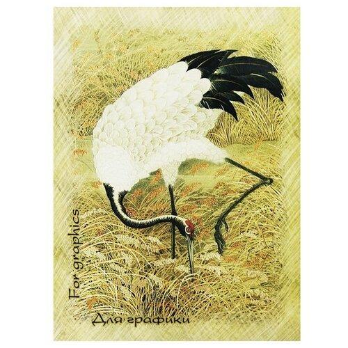 Купить Скетчбук для графики Лилия Холдинг Журавль 29.7 х 21 см (A4), 180 г/м², 20 л., Альбомы для рисования