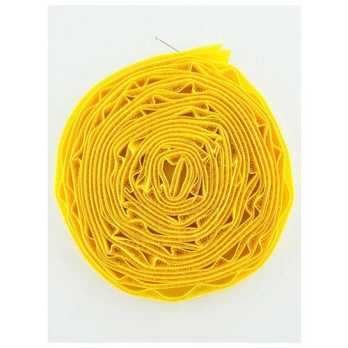 Купить Липучка 16 мм.(4, 5 м.), LG-16, Гамма, №008 желтый, Gamma, Технические ленты и тесьма