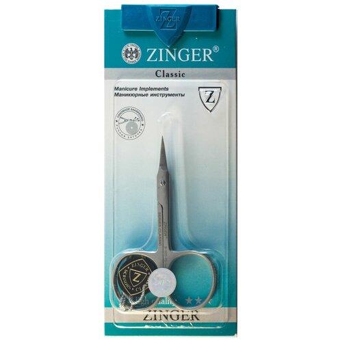 Маникюрные ножницы Zinger B-555 SH ручной заточки ножницы маникюрные для ногтей с ручной заточкой серебряные ana 28 zo b 106 s sh
