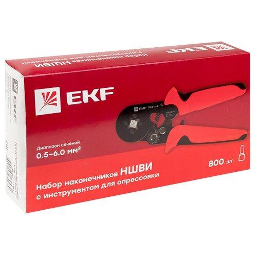 Набор для работы с кабелем EKF PROxima НШВИ №6 (nabor-nshvi-6) красный