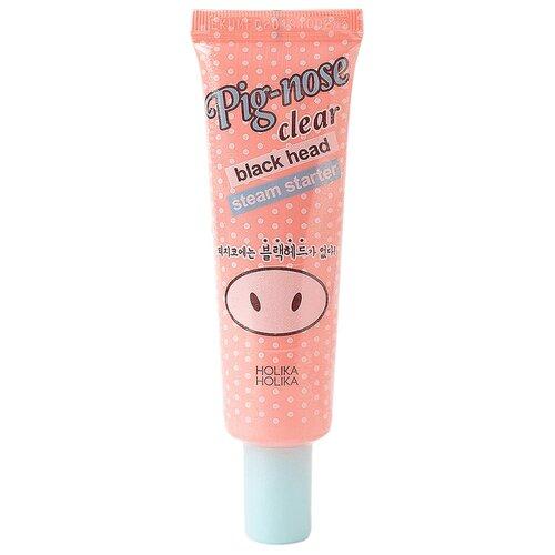 Holika Holika термо-гель для лица Pig-nose clear black head steam starter 30 мл недорого