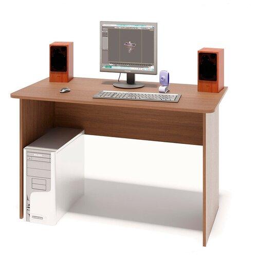 Стол компьютерный Шарм-Дизайн СП-1200 орех
