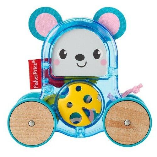 Фото - Развивающая игрушка Fisher-Price Мышка с сюрпризом (GLD02), голубой развивающая игрушка fisher price веселые ритмы бибо бибель fcw42