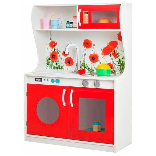 Кухня PAREMO Фиори Россо Мини PK218-10 красный