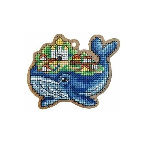 ВВ-107 Рыба-кит Набор для вышивания набор для вышивания дивная вишня вв 65 мускари