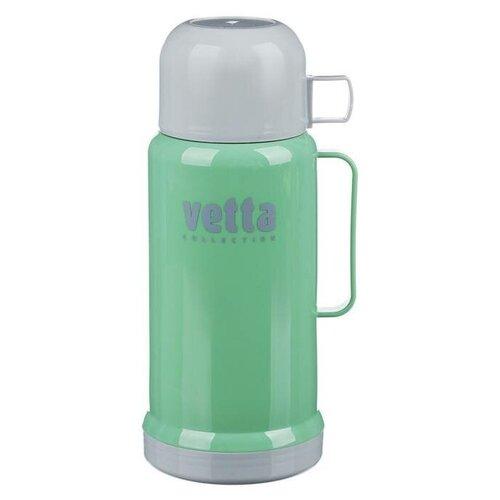 VETTA Зеленый Термос стеклянная колба Туристический 0,60л