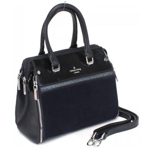 Женская сумка-тоут экокожа(искусственная кожа) + натуральная замша Kenguluna 531917