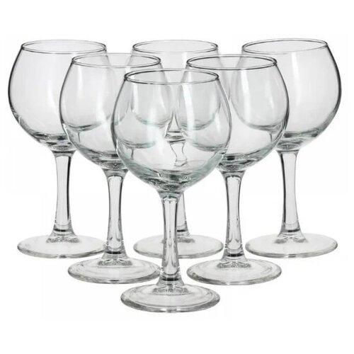 Pasabahce Набор бокалов для воды Bistro 290 мл 6 шт. прозрачный pasabahce набор бокалов tulipe 200 мл 6 шт прозрачный