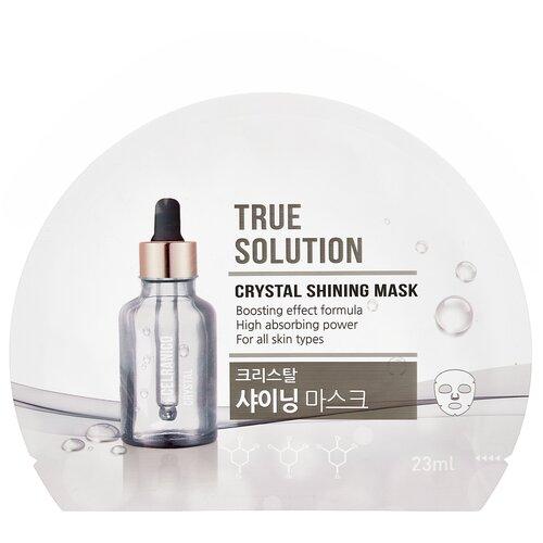 Celranico тканевая маска True Solution Crystal Shining для сияния кожи, 23 мл недорого