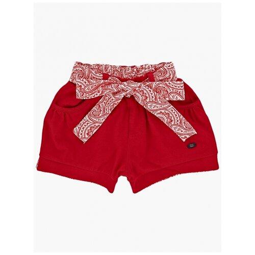 Фото - Шорты Mini Maxi, 4716, цвет красный 4716(1)крас узоры-98 98 шорты mini maxi 4248 цвет красный 4248 2 красный 98 98