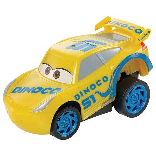 Фото - Легковой автомобиль Mattel Cars Dinoco Круз Рамирез (DVD31/FBG14), желтый легковой автомобиль mattel