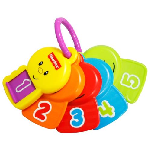 Фото - Развивающая игрушка Fisher-Price Ключи Считаем и делаем открытия, разноцветный fisher price посмотри и найди