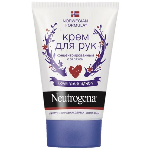 Крем для рук Neutrogena Norwegian formula Concentrated с запахом 50 мл нитроджина norwegian formula бальзам уход для тела 200мл крем для рук 50мл