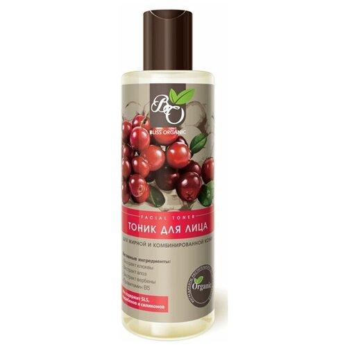 Bliss Organic Тоник для лица для жирной и комбинированной кожи, 200 мл