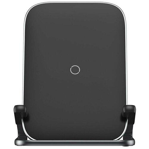 Фото - Беспроводное зарядное устройство Baseus Rib Horizontal and Vertical Holder Wireless Charging 15W, цвет Черный беспроводное зарядное устройство baseus cobble wireless charger 15w черный bs w501