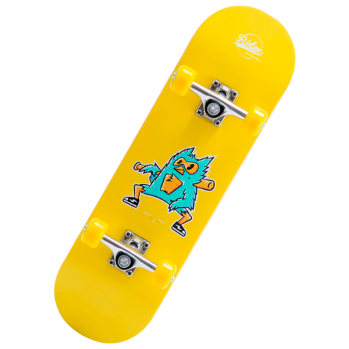 детский скейтборд navigator т20013 синий желтый Детский скейтборд Ridex Birdie 27.5, 27.5x8, желтый