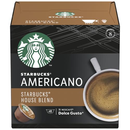 Кофе в капсулах Starbucks Americano, 12 капс.