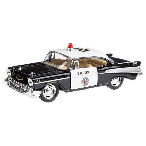 Купить Детская инерционная металлическая машинка Serinity Toys с открывающимися дверями, модель Chevrolet Bel Air Полиция, Машинки и техника