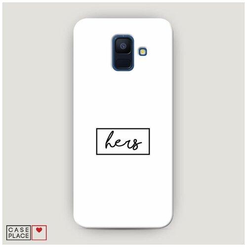 Чехол Пластиковый Samsung Galaxy A6 Hers Case