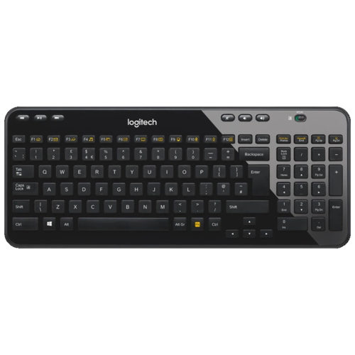 Клавиатура Logitech K360 черный