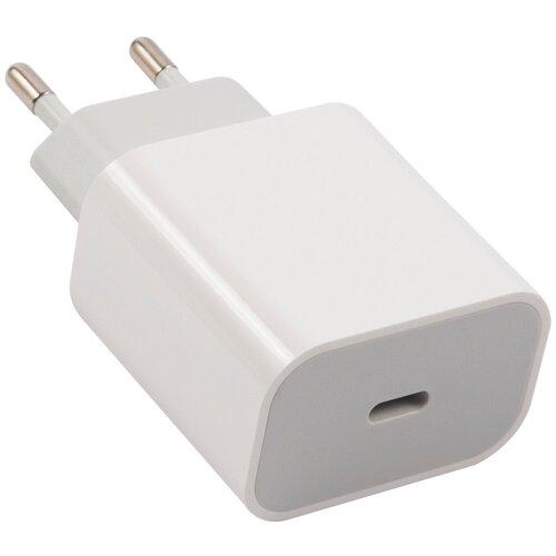 Сетевое зарядное устройство Type-C (модель PD1-5A), PD25, белый Red Line / Зарядное устройство для Apple iPhone / Быстрая зарядка iPhone