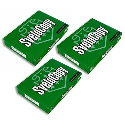 Бумага для принтера SvetoCopy, формат А4, 500 листов х 3 шт