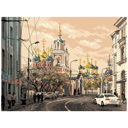 Рисунок на канве матренин посад арт.37х49 - 1801 Москва, ул. Варварка
