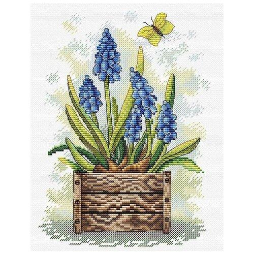 Набор Сапфировый цветок 23х18 МП-Студия М-206 23х18 МП-Студия М-206