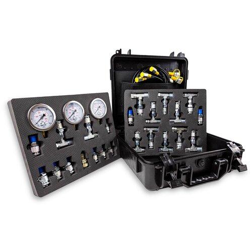 Манометры SPECOS и штуцеры для измерения давления в гидросистеме GM-03L